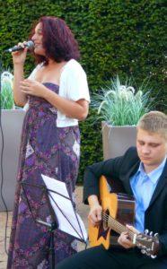 Musik bei der freien Trauung im Hotel Sonne in Rheda-Wiedenbrück