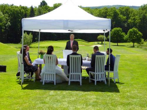 Die Rede zur Hochzeitszeremonie auf dem Golfplatz am Möhnesee